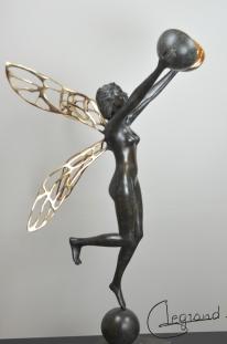 Hauméa bronze - Geneviève Legrand (1)