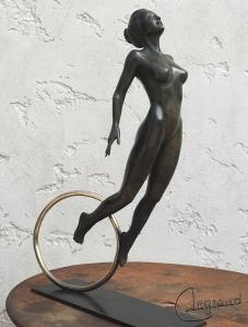 Libération bronze - Geneviève Legrand (2)