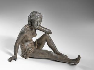 """""""Détente"""" bronze 28 x 40 x 22 cm"""