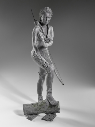 """Diane"" Bronze 80 x 30 cm"