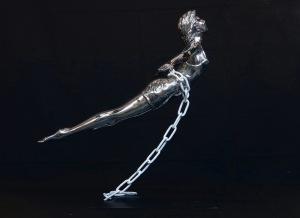 L'envol aluminium - Geneviève Legrand (2)