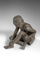 """""""Réflexion"""" Bronze 24 x 26 cm"""