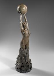 """""""Renaissance"""" Bronze 65 x 18 cm"""