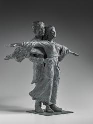 """Titanic"" Bronze 60 x 60 x 20 cm."